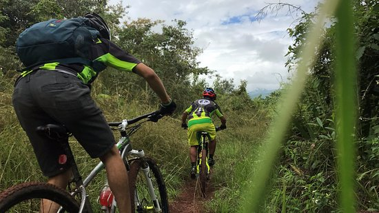 Amazon Mountain Bikers