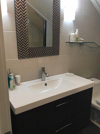 นิวตัน, แมสซาชูเซตส์: Tree Top Bathroom Detail