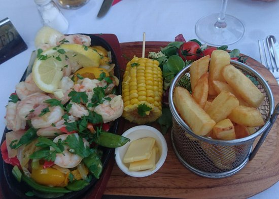 Holliers Hotel: One of the Sizzler dishes I tried.