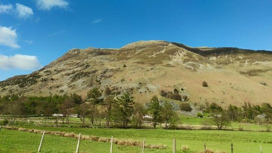 Patterdale, UK: Just outside the hote;