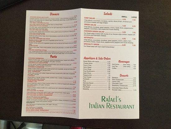 Trenton, GA: Rafael's Italian Restaurant
