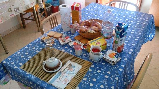 Taglio di Po, Itália: colazione