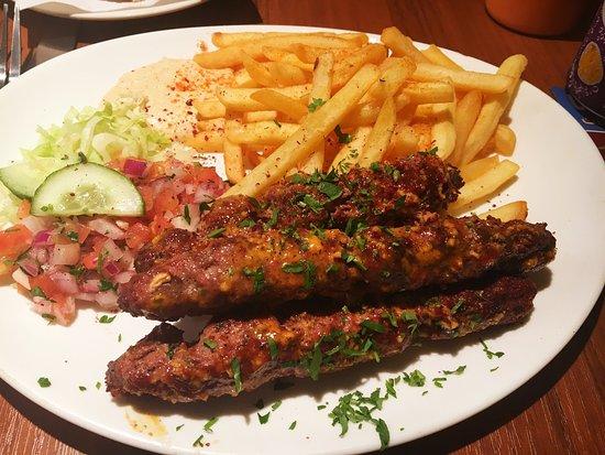 Jaffa Restaurant Preston Menu