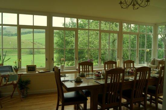 West Linton, UK: Breakfast room
