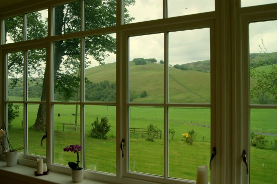 West Linton, UK: View from the breakfast room