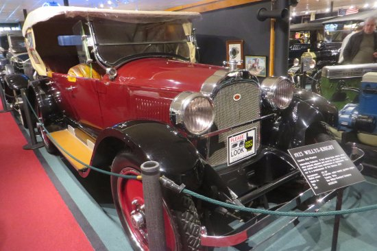 The Car and Carriage Caravan Museum: A 1923 Willys!