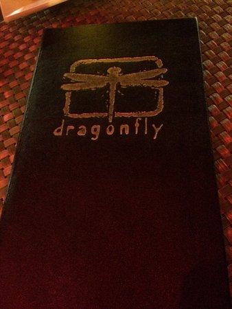 Dragonfly logo - this was from the tab folder, but I think it was on the menu as well.