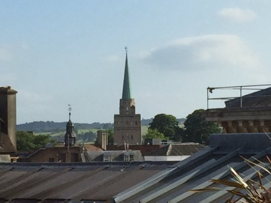 Rooftop Restaurant Ashmolean: The Spires Of Oxford From The Ashmolean Roof  Top Restaurant