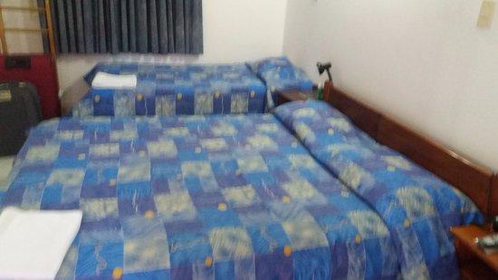 Asunción, Paraguay, Hotel Palmas del Sol.