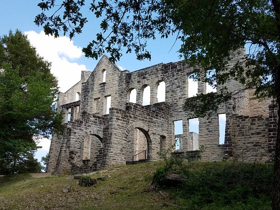 Ha Ha Tonka State Park: View of the castle! Must visit this when you come to the park!