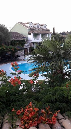 Valentino Corfu: View from our bedroom