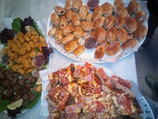 Agia Marina, Greece: more catering