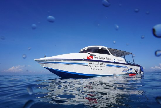 Aqua Vision Scuba Diving: Andaman Dream is our fast comfortable boat custom built for diving