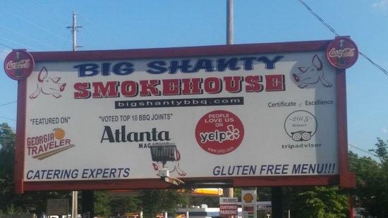 Big Shanty Smokehouse BBQ: The Big Shanty