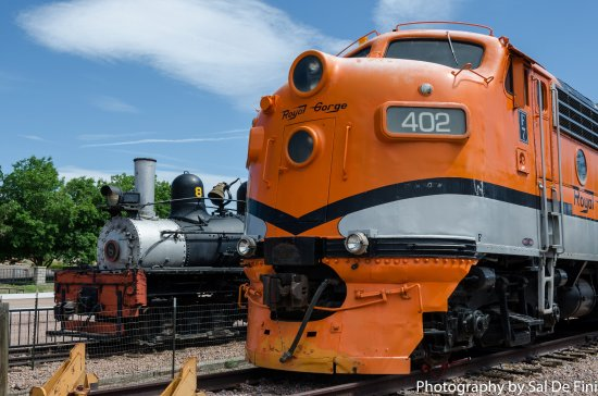 Royal Gorge Route Railroad: A great example of the old & the new