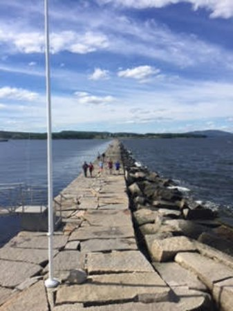 Rockland, ME: the breakwater