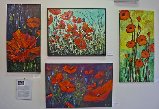 Enderby, Canada: Poppy Theme Exhibition