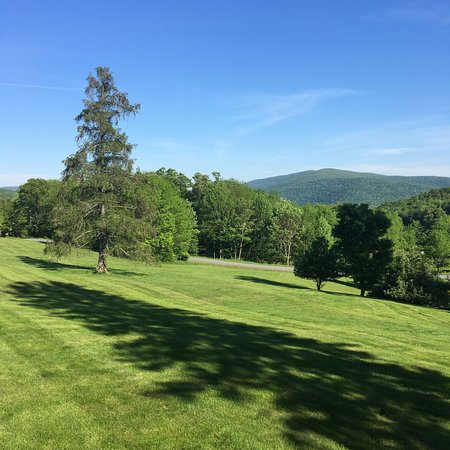 Margaretville, Estado de Nueva York: View from the front porch.