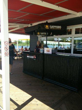 Port Severn, Canada: Entrance to the restaurant