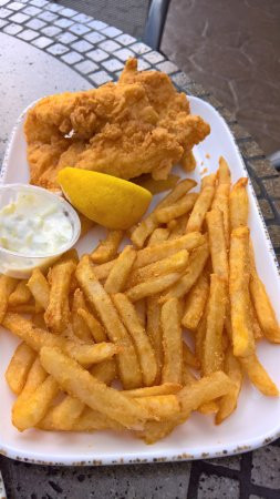 Keego Harbor, MI: My husband said it was the best fish and chips he's ever had! The coleslaw was awesome too!