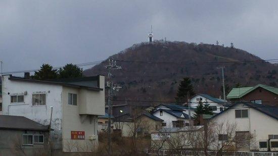 Monbetsu, Japan: 街中からタワーを望む
