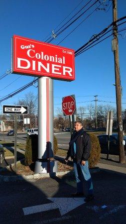 Lyndhurst, NJ : El formidable letrero del restaurante