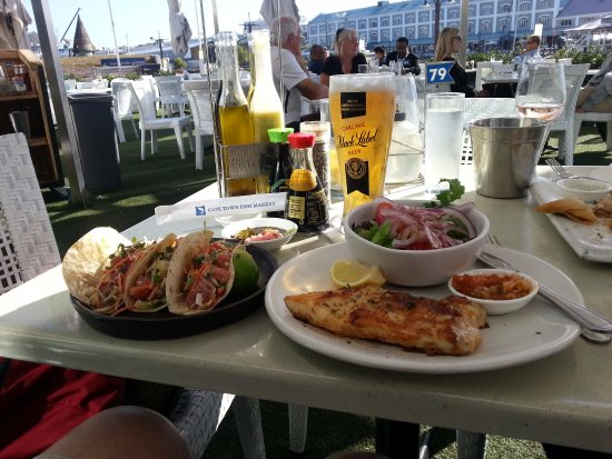 Cape Town Fish Market (Tokai): Seafood tacos and Kingklip now thats a lunch