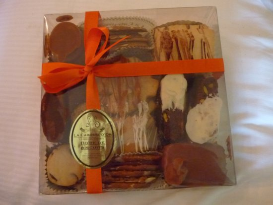 Sherwood Park, Canada: Chocolate biscuits