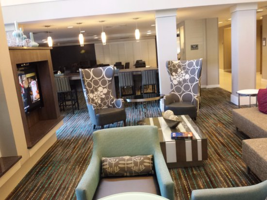 Residence Inn Amelia Island : The lobby is very updated and welcoming!