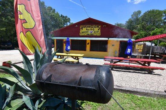 Crawfordville, FL: Restaurant BBQ..