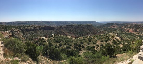 View of the canyon from State Hwy Park Rd 5