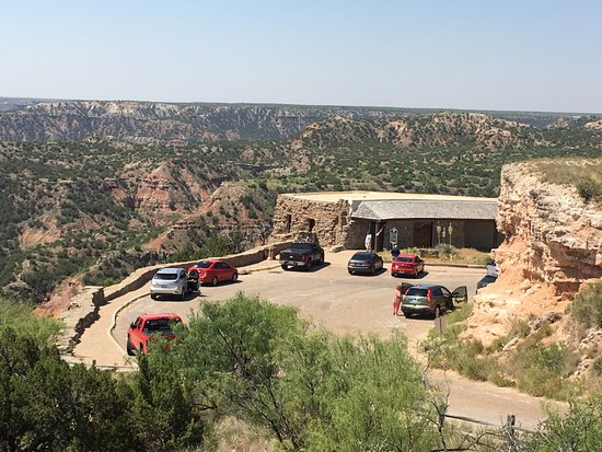 Canyon, TX: Visitor center off of State Hwy Park Rd 5