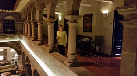 Novotel Cusco: Hotel is hundreds of year old ruin brought back, we enjoyed trying to see what was old or restor