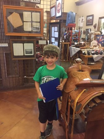 Nocona, TX: The kids enjoyed the scavenger hunt and gift shop.