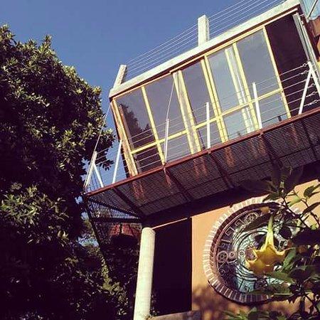 La Casa del Arrayan : Vista del Balcon de Mono Othonqui