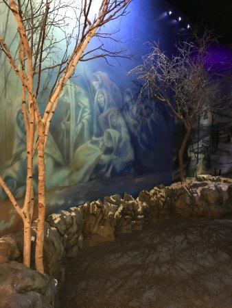 Museum of the Cherokee Indian: More of the Trail of Tears Mural