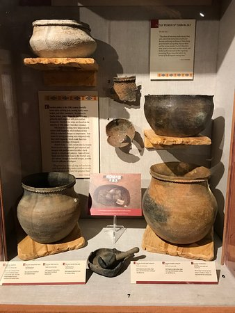 Museum of the Cherokee Indian: Pottery