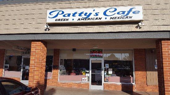 La Mesa, CA: Patty's Cafe Entrance