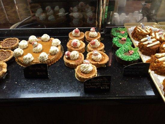 Des Plaines, IL: Seasonal Fall selection of desserts
