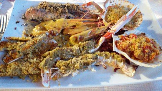 Pilonico Paterno, Италия: Cena di pesce