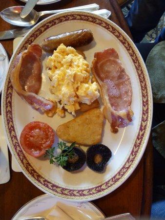 Maugersbury, UK: cooked breakfast