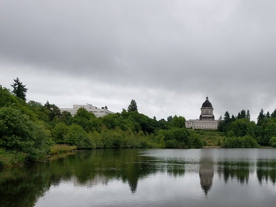 Olympia, WA: View of the Capitol building
