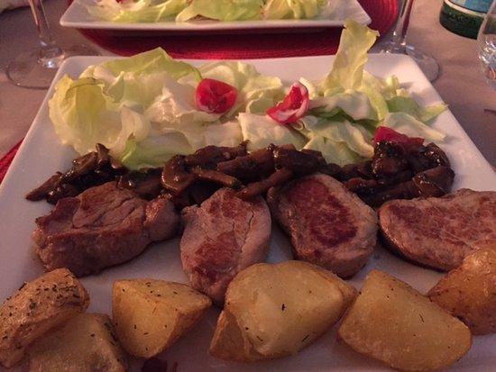 Restaurant La Voute : médaillon de veau