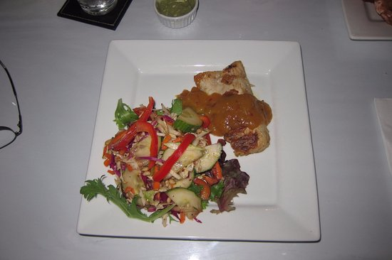 anita s spice restaurant grilled fish with chilli and mango sauce