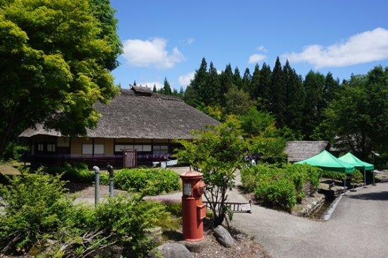 Okuaizu Museum : 染屋(旧杉原家住宅)