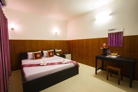 Sisophon, Cambodja: Double Room