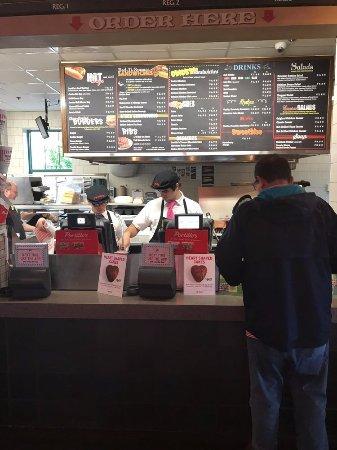 Northlake, IL : order counter