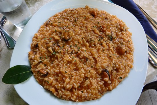 Drnis, Kroatien: seafood risotto