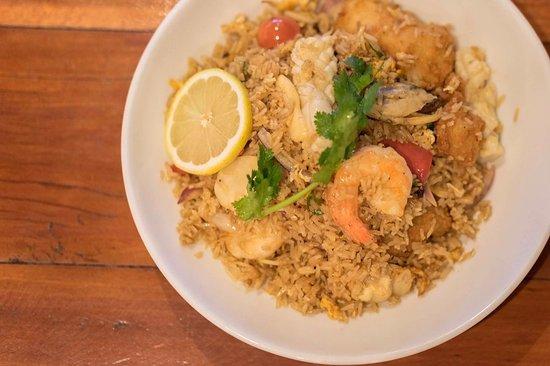 Drummoyne, Avustralya: Fried rice Prawn