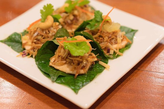 Drummoyne, Αυστραλία: Miang kum, with smoke salmon